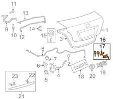 TOYOTA OEM 09-13 Corolla Trunk Lid-Lock Cylinder /& Keys 6905512A40