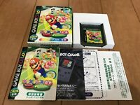 GameBoy Color Mario Tennis GB with BOX and Manual 2