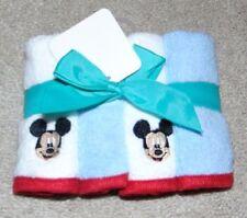 ~4 NWT Boys DISNEY'S MICKEY MOUSE Wash Cloths Cute FS:)~