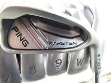 Used Ping Karsten Iron Set 6-U Black Dot CFS Distance Regular Flex Steel Shafts