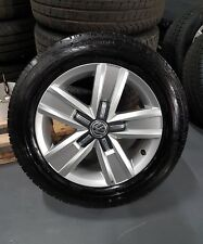 VW T6 T5.1 Transporter Genuine 17 Inch Alloy Wheels And Tyres Highline 200 Miles