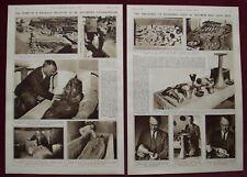 PHOTO ARTICLE 1940 EGYPT TANIS PSUSENNES PHARAOH 21st DYNASTY PIERRE MONTET