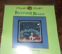 MILL HILL Buttons & Beads Counted Cross Stitch Kit - MH14-5305 ALL IS CALM