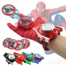 Cute Fun Super Hero Spider-Man Launchers Gloves Kids Children Cosplay Toy Hot