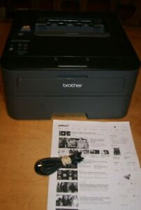 BROTHER HL-L2360DW MONOCHROME LASER PRINTER INLCUDES SOME TONER