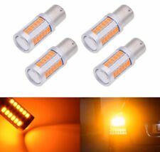 BOMBILLAS LED CAN BUS  P21W,1156, BAU15S NARANJA,AMBAR,INTERMITENTE, 33 SMD.