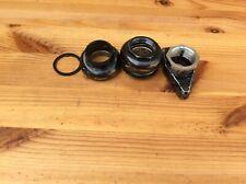 """vintage headset 1"""" Vintage MTB black mountain bike"""