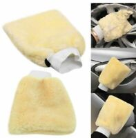 Luxury Car Wash Mitt Glove Professional Quality Super Soft Synthetic Lambs Wool