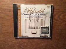 Händel - Organ Concerts Orgel Konzerte [SACD Album] Christian Schmitt Nicol Matt
