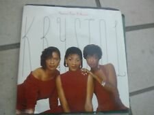 """7"""" KRYSTOL PASSION FROM A WOMAN BABY MAKE YOUR MIND UP UK 1986 EX++"""