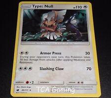 Type: Null 89/111 Sm Crimson Invasion Set Holo Rare Pokemon Card Near Mint