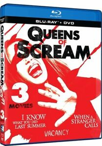 Queens of Scream: Triple Feature BLU-RAY