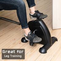 Portable Exercise Bike Pedals Stable Mini Floor Foot Pedal - Durable Leg and Arm