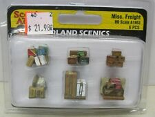Woodland Scenics # A1953 ~ Scenic Accents - Misc. Freight ~Ho Scale