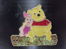 Disney Magical Musical Moments Pin #79 Day In The Life Of A Pooh & Piglet