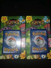 2012 Pokemon Blister Pack 15 cards per pack plus one promo