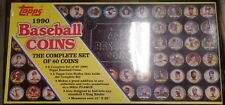 Topps 1990 Baseball Coins Complete Set of 60 New and Sealed