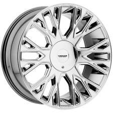 """Cruiser Alloy 923C Raucous 20x9 5x115/5x5.5"""" +15mm Chrome Wheel Rim 20"""" Inch"""