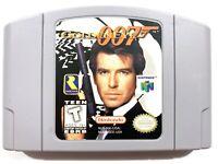 AUTHENTIC! James Bond 007 GoldenEye NINTENDO 64 N64 OEM Original Game Tested!