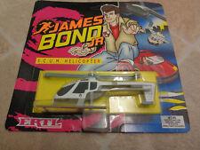Ertl James Bond Jr vehicles S.C.U.M. Helicopter Mint on sealed backing card