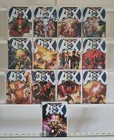 A Vs X Avengers Vs X-Men 0-12 Complete Marvel Set Series Run Lot Of 13 VF/NM