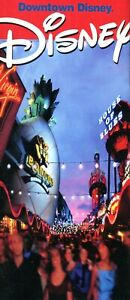 2002 Downtown Disney Guidebook Packed With 20 Pages Of Extinct Attractions