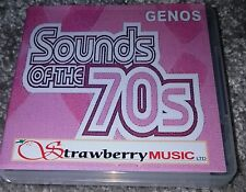 SOUNDS OF THE SEVENTIES Genos DOWNLOAD 1000 registrations for Yamaha Genos