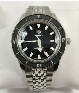 Rado Captain Cook Automatic Black Dial Stainless Steel Men's Watch R32505158