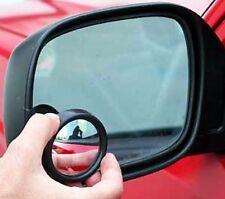 2 x CAR VAN CIRCULAR REAR BLIND SPOT BLINDSPOT CAR TOWING REVERSE MIRRORS AC54