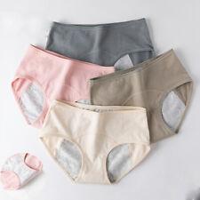 Underwear Womens Menstrual Period M-XL 1 Pack Panties Briefs  Cotton Leakproof
