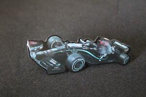 Lewis Hamilton #44 Mercedes F1 2020 Car Black Pin Badge
