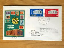 IRELAND 1969-80 COVERS WITH 1969 EUROPA SET ON A VERY FINE COVER (3 COVERS)