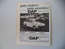 advertising Pubblicità 1965 DAF FODIL DAFFODIL