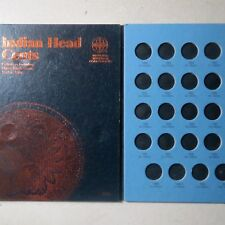 1857-1909, INDIAN HEAD/FLYING EAGLE COIN FOLDER by Whitman, NEW w/ NO Coins