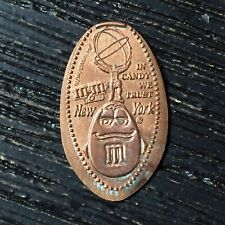 M&M's World New York Candy We Trust Smashed pressed elongated penny P2252