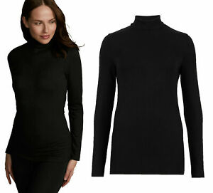 NEXT™ Womens Thermal Top New Thermogen™ Roll Polo Neck Long Sleeve Soft & Warm