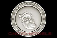 3d Model Stl For Cnc Router Artcam Aspire Merry Christmas Santa Claus D693