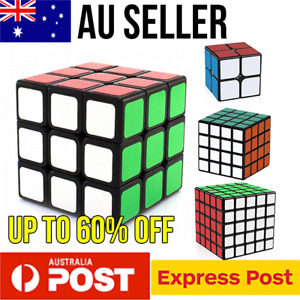 Magic Cube Smooth Fast Speed Cube Puzzle 2x2 3x3 4x4 5x5 Smooth quality cube