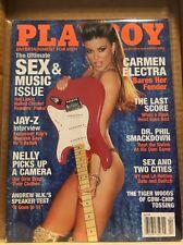 Playboy April 2003 ~ Carmen Electra, Jay-Z , Dr Phil ~ VERY GOOD!