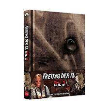 Blu-ray - Freitag, der 13. - Teil 2 - Uncut/Mediabook  (+ Bonus-DVD) - Amy Steel