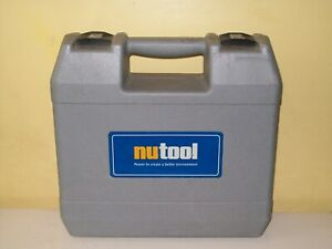 Nutool Carry Case Only; Fits Model NPT24C Cordless Drill