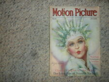 Motion Picture MAY 1929 MAGAZINE Charlie Chaplin Clara Bow GOOD CONDITION
