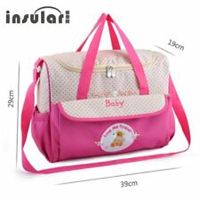 INSULAR Cartoon Stroller Mother Travel Baby Diaper Bag Large Capacity Bag 8186 A