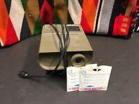 GAF Vintage View Master Projector Disney Reel 1-7 Bambi Peter Pan Mickey Donald