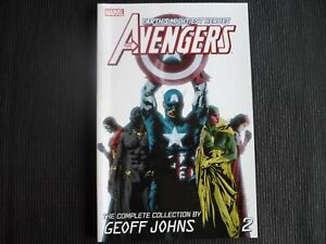 Avengers: The Complete Collection By Geoff Johns Vol 2 Softcover Graphic Novel (