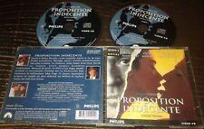 PROPOSITION INDECENTE TRES RARE FILM EN DOUBLE CDI INTERACTIF VIDEO CD