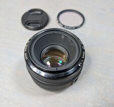 Canon EF 50mm 1.8 Metal Mount Lens - Excellent!