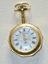 De France Vintage Gold Plated Sheffield Ladies Pocket Watch Elizabeth