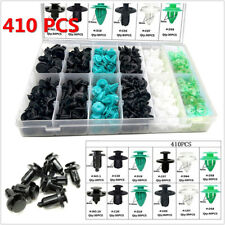 410Pcs Long Service Life Plastic Car Fender Bumper Fastener Clips Retainer Rivet