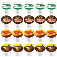 TOOTSIE ROLL HOT COCOA K CUPS FOR KEURIG 2.0  VARIETY PACKS 4 DIFFERENT FLAVORS!